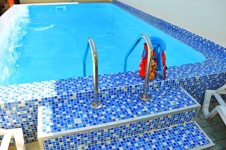 Предлагаемый в Феодосии домик с бассейн на ул. Понаморёвой.   Отдых в Крыму 2016