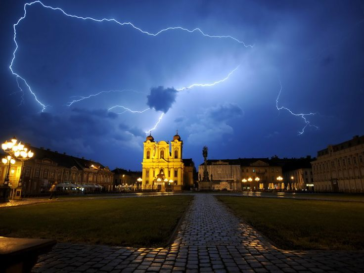 Orasul Timisoara, Romania.