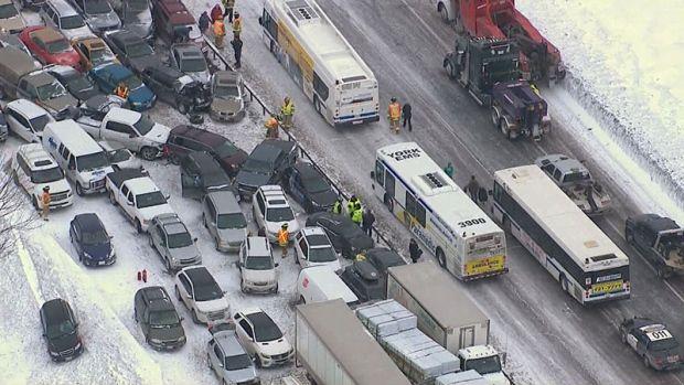 Toronto highway accident. CTV Toronto News.