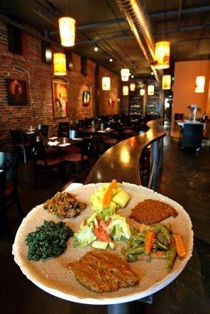 Ethiopian Food... Try it!!!