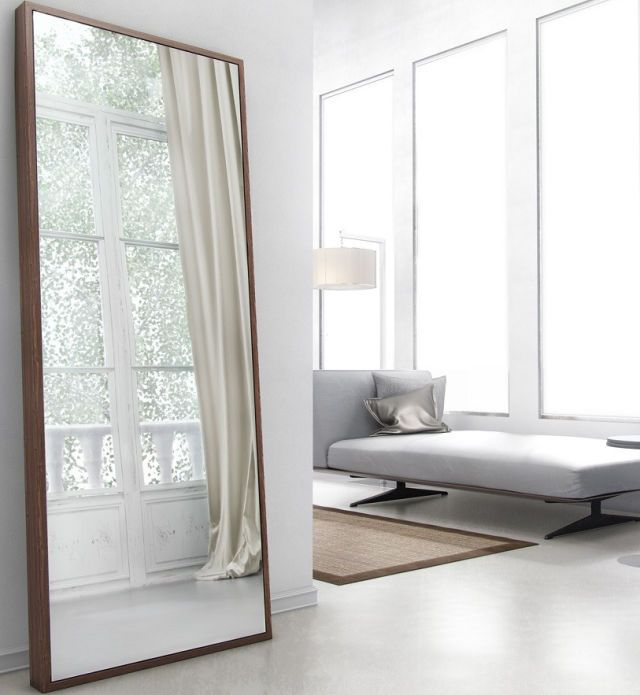 $599,+apt2b.com A+sizable+pick+with+streamlined+style,+the+Taft+mirror+embodies+grandiosity+and+simplicity+all+at+once.+Display+it+on+a+smaller,+lone+wall+to+completely+open+up+the+area. More:+10+Full-Length+Mirrors+That+Add+Dimension  - BestProducts.com