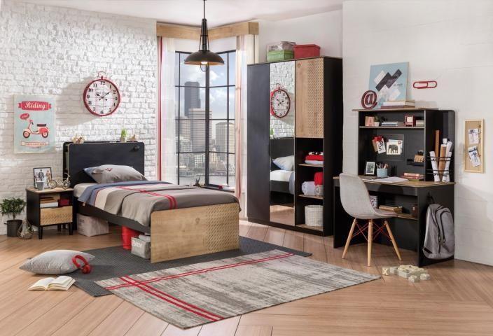 Inspiratie Moderne Slaapkamer : New york tienerbed slaapkamer tienerkamer inspiratie meisjeskamer