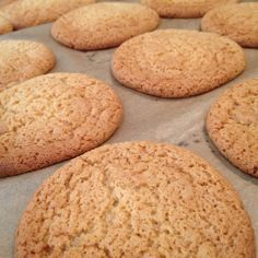 Homemade ginger nut biscuits