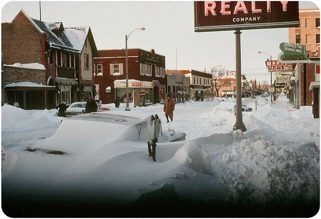 Elmhurst blizzard Illinois 1967
