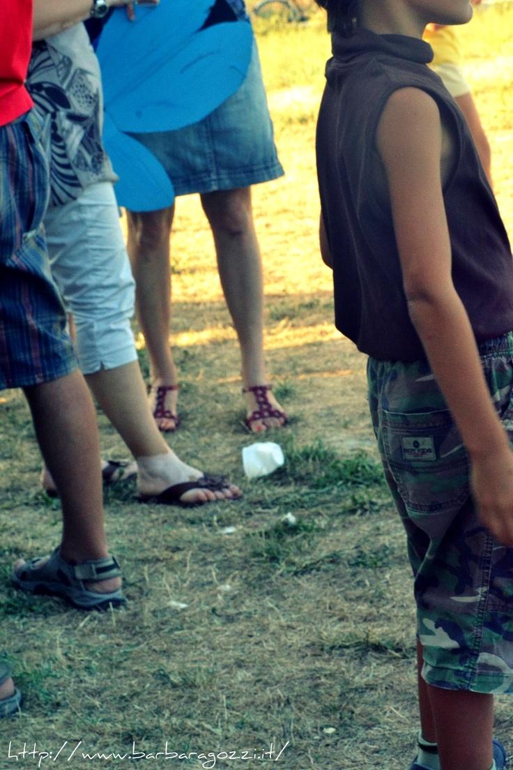Jeans, shoes, children's summer suit