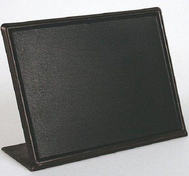 Metal Chalkboard With Easel