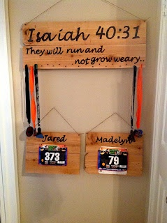 The King's Daughter and The Pilot's Wife: Texan Running Medal Display DIY