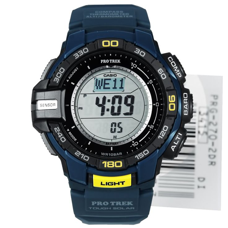 Casio Tough Solar Triple Sensor Watch PRG-270-2D PRG270