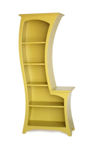 I love this bookcase for the nursery!  So Dr. Suess-esque!