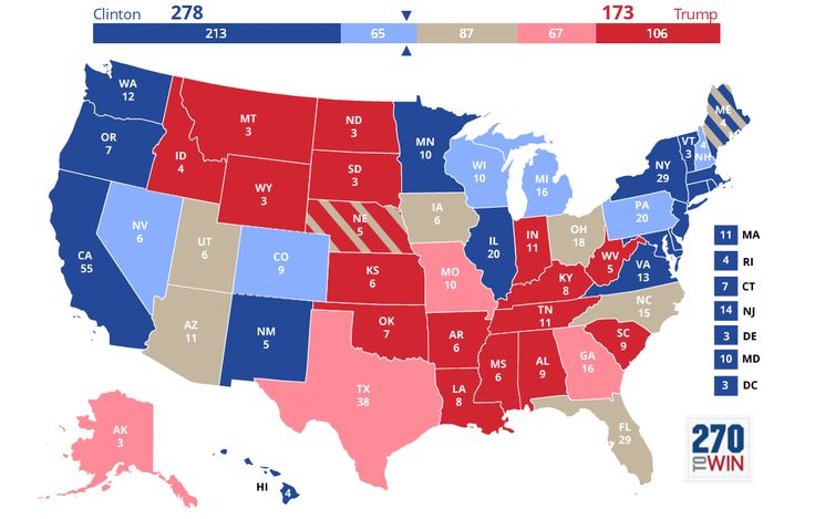 The Best Electoral Map Ideas On Pinterest Electoral - Map of us vote 2016 dumb