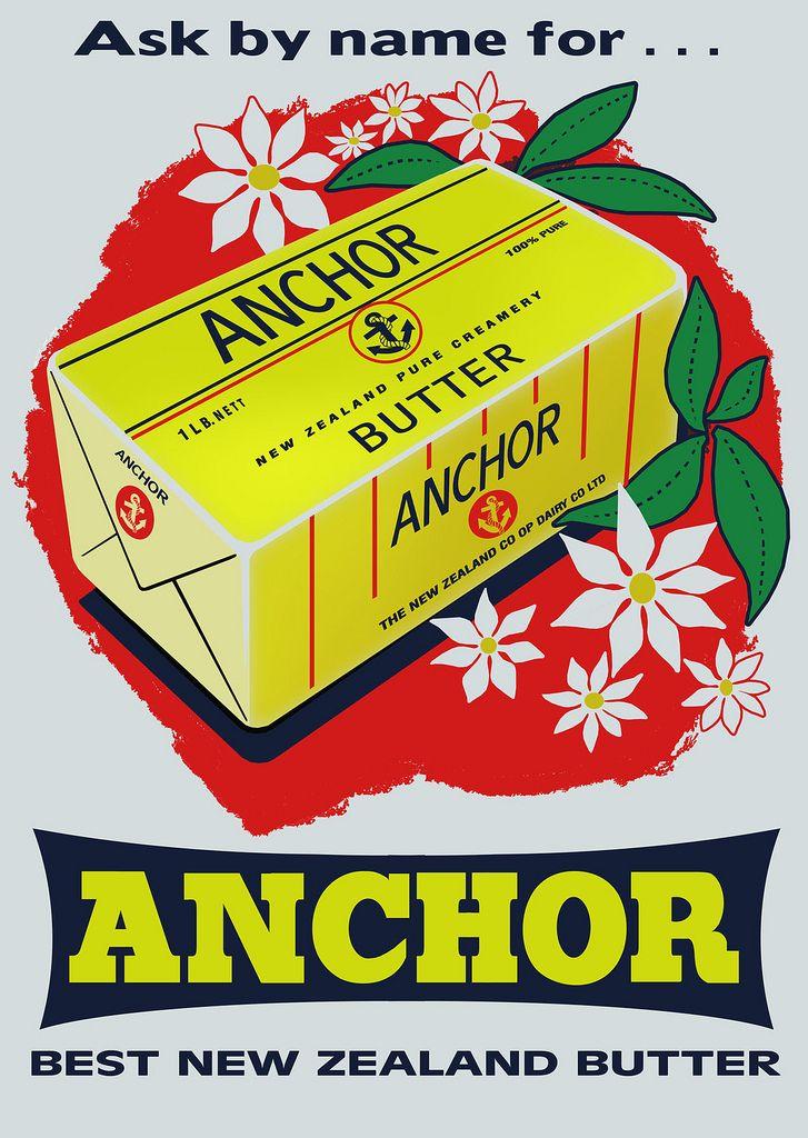 Anchor Butter Poster, 1960s