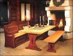 Røysheim spisebord 160x100 Cm i Antikk Svart