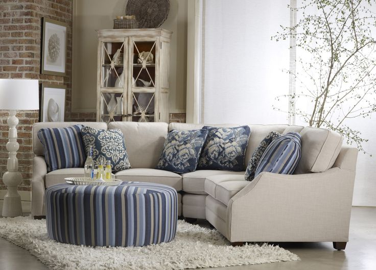 Rita 4 Pc Sectional By Sam Moore   Home Gallery Stores