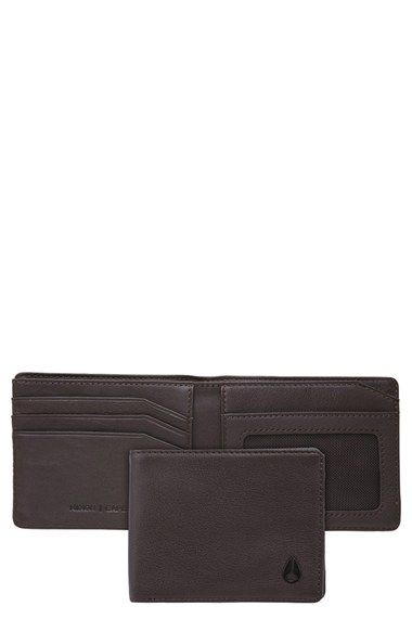 Nixon 'Cape' Leather Wallet