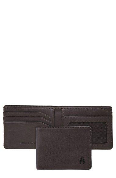 Nixon 'Cape' Leather Wallet