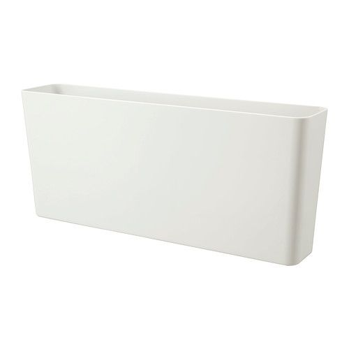 IKEA - VARIERA, Storage box, Makes it easier to organise and find what you need in the drawer.Ideal for chopping boards, pot lids and baking paper.Easy to use by hanging on the side of the drawer.