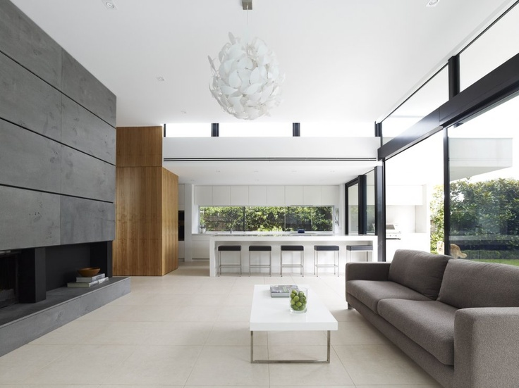 #minimalist #living #room \ Good Residence By Crone Partners Architecture  Studios \ Sandringham Part 79