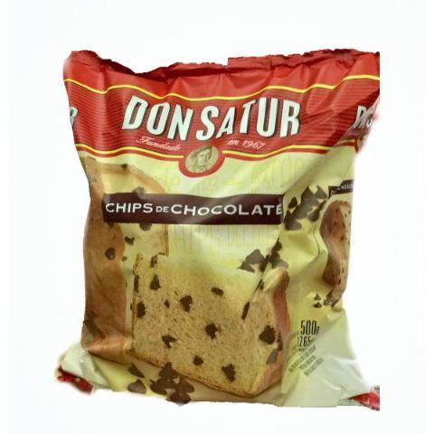Pan Dulce Don Satur Con Chips 500gr -barata La Golosineria