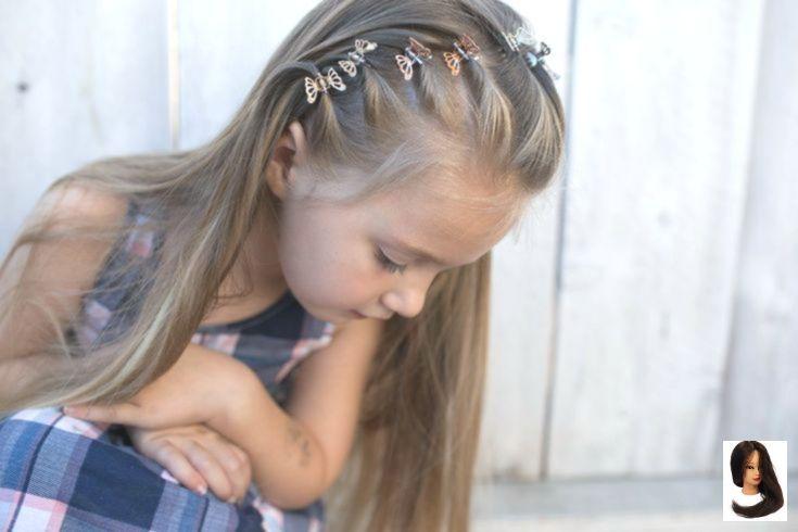 # 90er # Claw-Clip Frisuren 90er # Clawclip #Frisuren #Haar #Styles