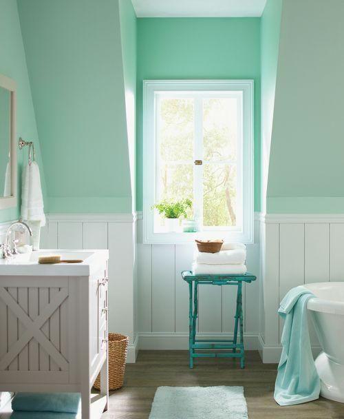 En Busca Del Bano Perfecto Dormitorio Verde Menta Decoracion Verde Menta Verde Menta
