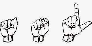 A-S-L. American Sign Language to those over thirty. Age, Sex, Location to the young and happening.
