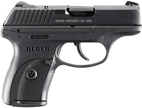 "$443.00  Ruger LC9 Centerfire Pistol, 3.12"" barrel, 7+1 capacity, CA Approved! Just a heads up: this compact pistol has a VERY LONG trigger pull, as it is double-action only. It may take some getting used to."