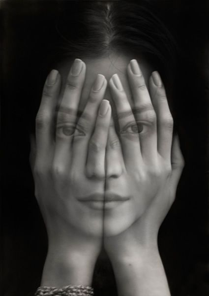 """Mirror"", Oil on canvas by Tigran Tsitoghdzyan"