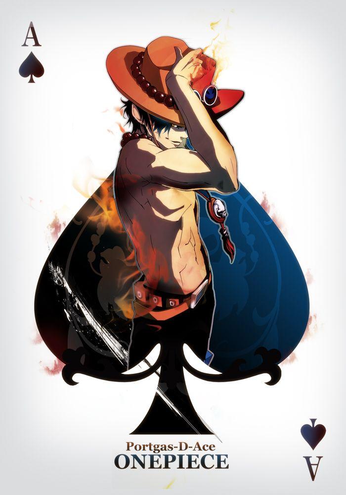 Portgas D. Ace - One piece Anime - Fanart