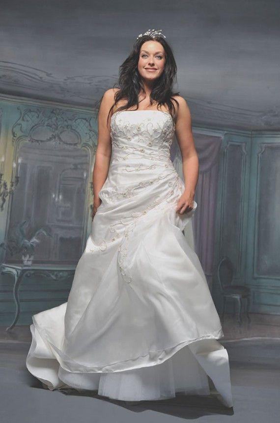 Plus Size Casual White Dress