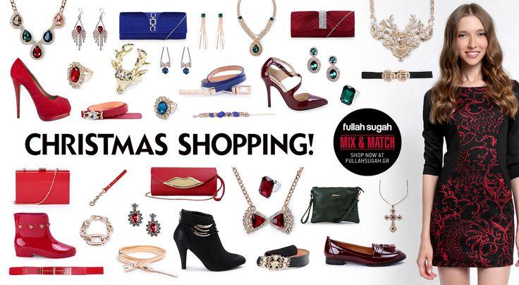 Mix & Match | Christmas Shopping! | http://fullahsugah.gr/ #MixAndMatch #FullahSugah