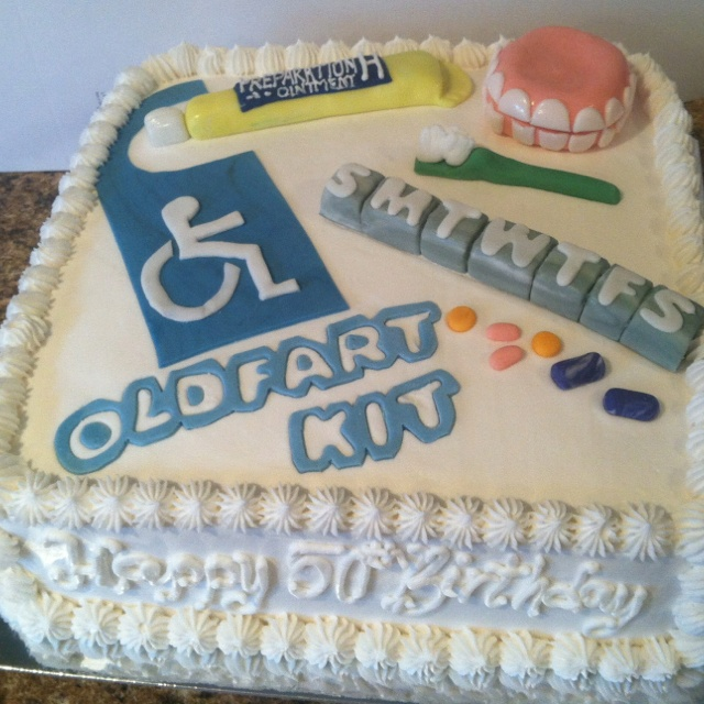 Old Fart Birthday Cake