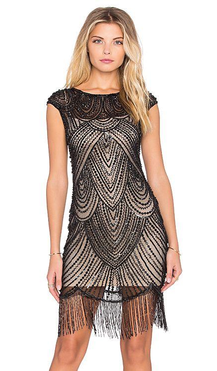 Raga Beaded Dress in Black | REVOLVE