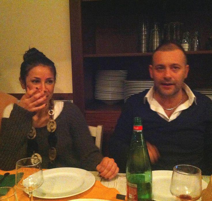 Alfredo e Roberta dal Brigante. Ristorante Napoli La Taverna Del Brigante www.latavernadelbrigantenapoli.it