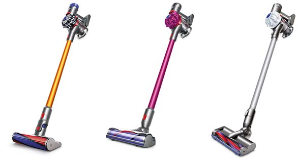 Read Dyson cordless vacuum reviews.  Independent reviews of the Dyson V6, Dyson V7 and Dyson V8 cordless vacuums.