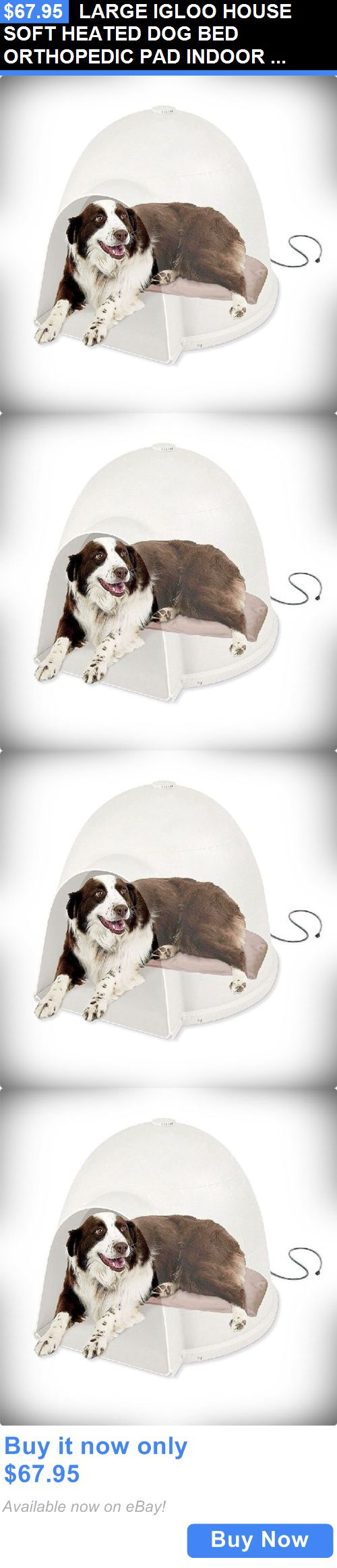 1000 ideas about heated dog house on pinterest dog for Soft indoor dog house large