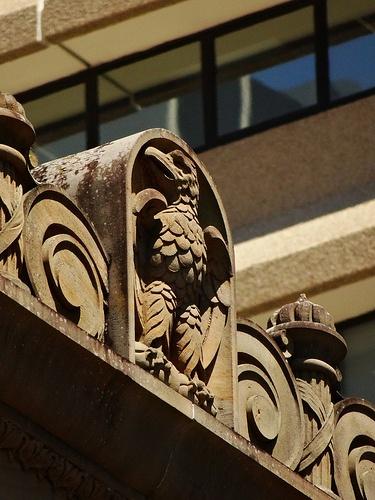 Detail on Mason Temple