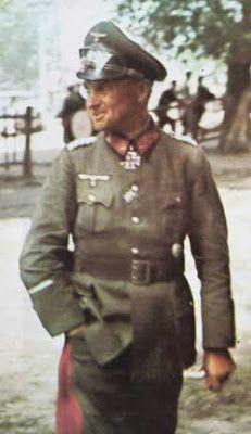 Generalfeldmarschall Walter Model color