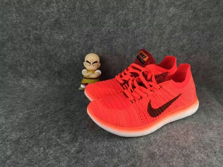 NIKE FREE FLYKNIT 5.0   Orange/Black  Size: 36--39