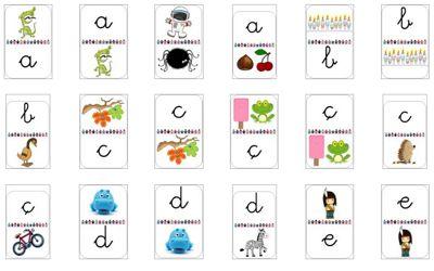 Dòmino de l'abecedari