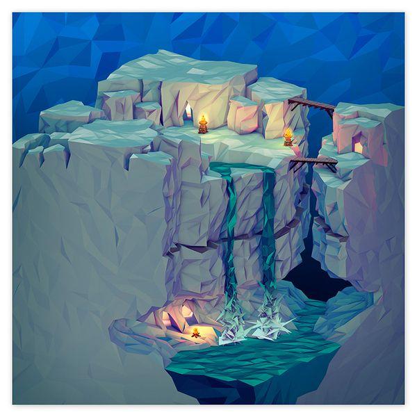 JR Schmidt – Polygonal Posters & Geometric Landscapes