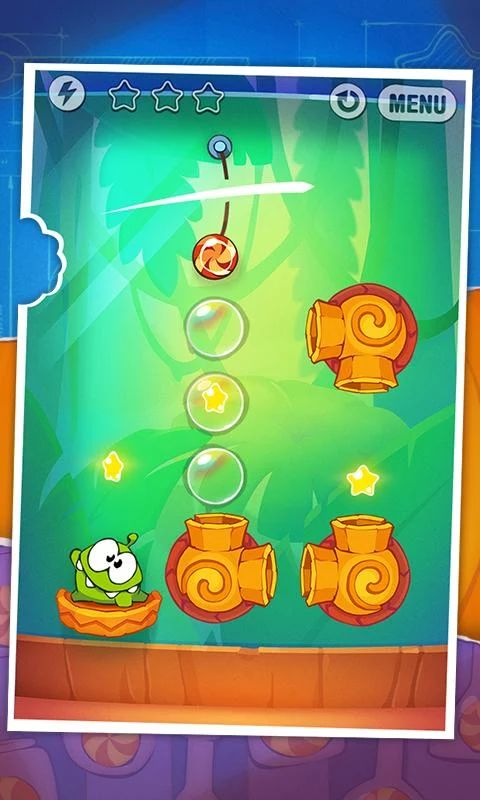 Cut the Rope: Experiments FREE- スクリーンショット
