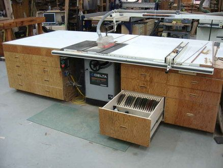 Charming Amazing Table Saw Outfeed Tables   Table Saw Central