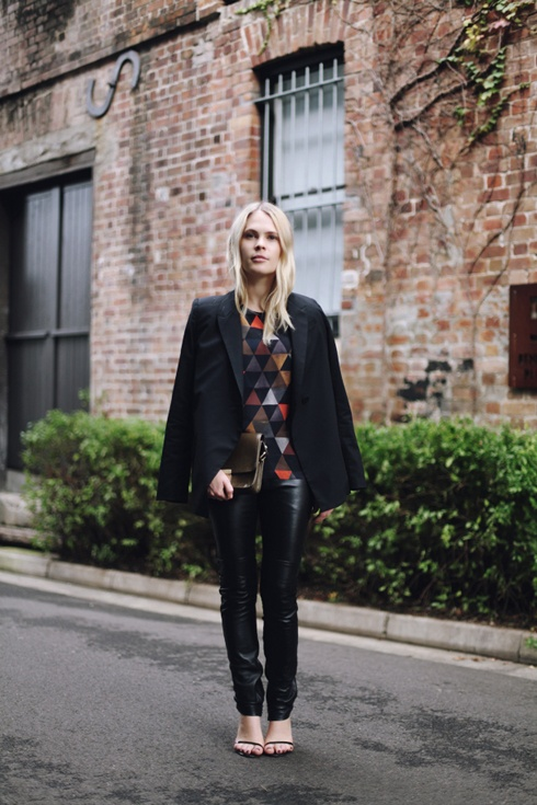Jessie from We The People wearing AW'12