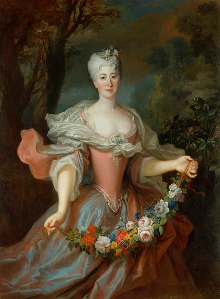 Louis de Silvestre, Gräfin Marcybella Ogińska (1696?-1763), 1724