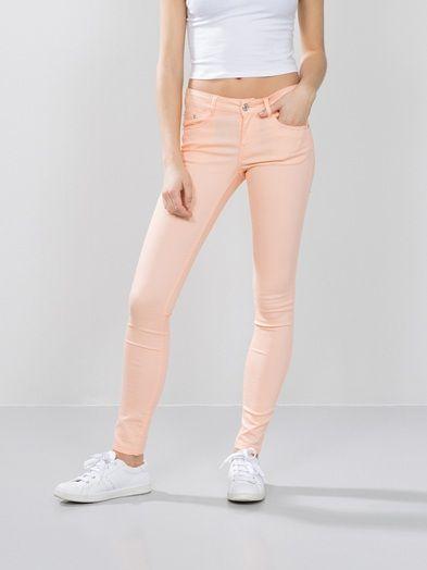 Linda pants | 7149667 | Orange | BikBok | Norge