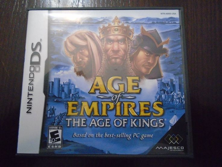 Nintendo DS AGE of EMPIRES The Age of Kings Complete Box, booklet, game Tested
