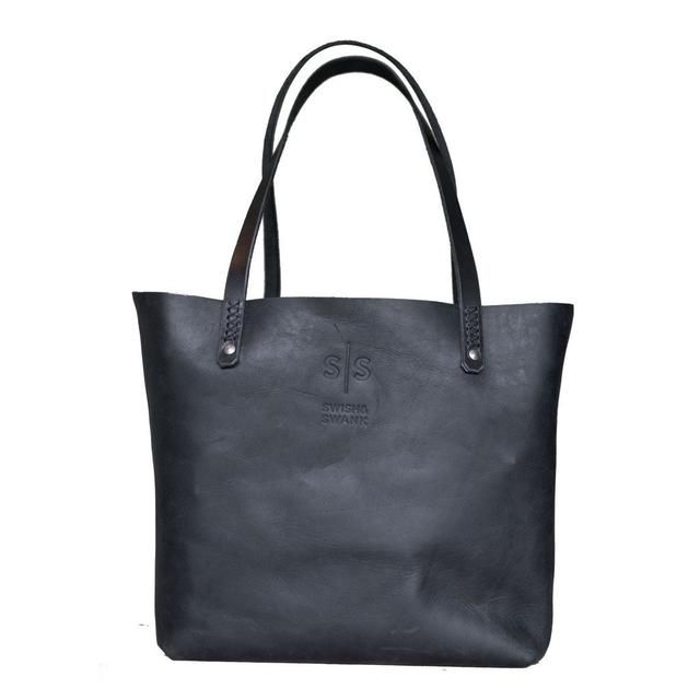Eve Tote - Black Available on Shopify! Shop here 👉 http://swish-swank.com/products/eve-tote-black