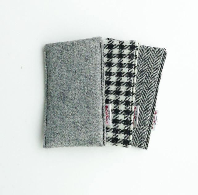 Phone cover, custom made to fit any phone, Harris Tweed £20.00