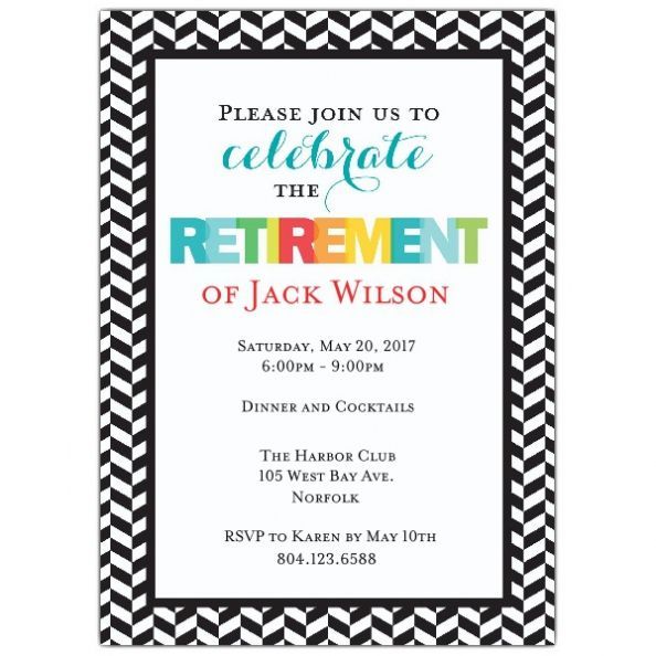 best 25+ retirement party invitations ideas on pinterest, Party invitations