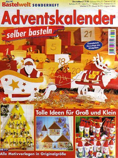 Bastelwelt - Adventskalender / Kreatív adventi naptárak - Muscaria Amanita - Picasa Webalbumok